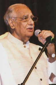 Kuldip Nayar at Ghadar Memorial Conference, Sacramento, CA