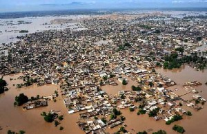 Flooding in the Indus Valley
