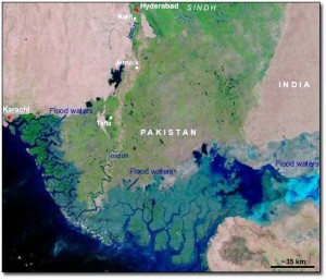 Floods in the Indus Valley