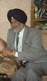 Surjit Singh Rakhra, President of the Oversees Akali Dal