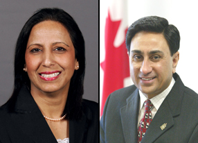 Gurmant and Nina Grewal, MP