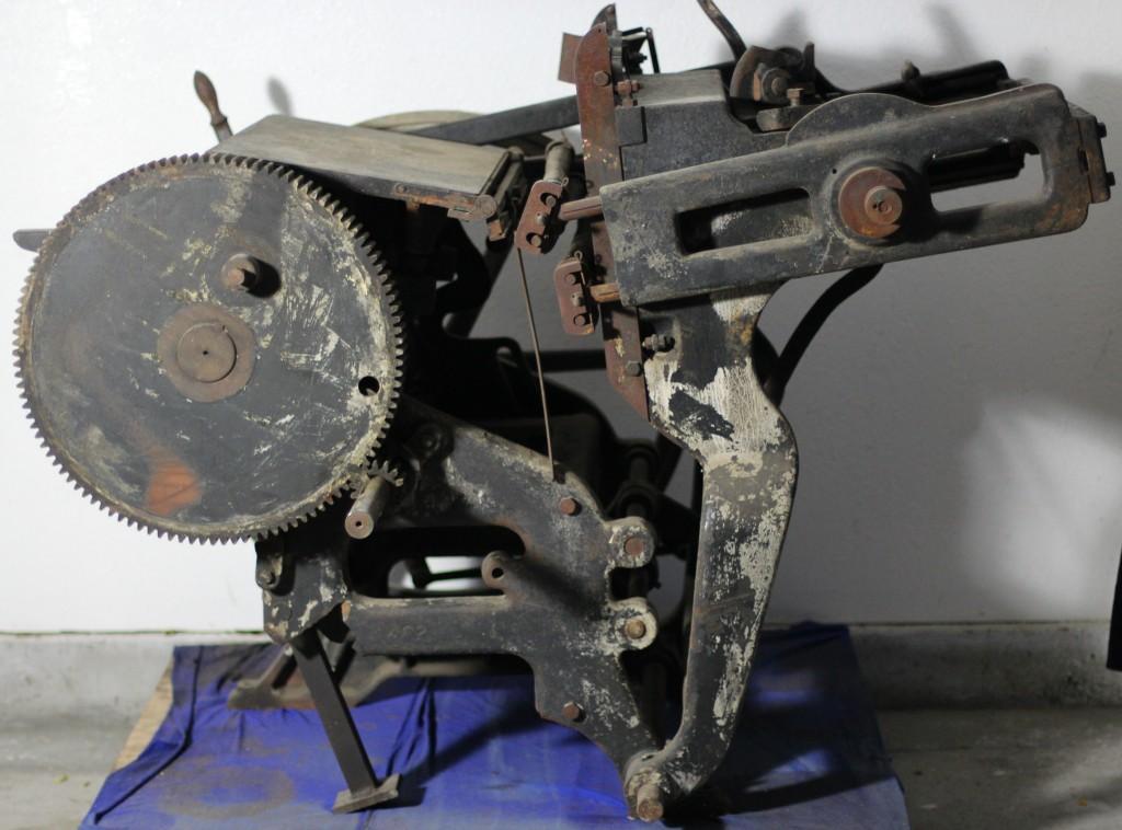 Original Printing Press at Yugantar Ashram 1913