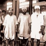 Baba Bhakna 2nd from Right at Amritsar Railway Station