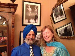 Pashaura Singh Dhillon with Sen. Ellen Corbett in her office- Capitol Sacramento