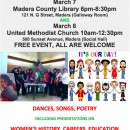"Happy International Women's Day From Madera, California with the American Association of University Women and my Punjabi Poem with English subtitles: ""Daughters"""